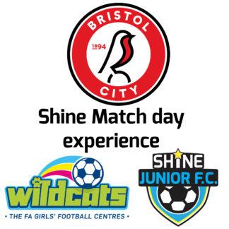 Shine Matchday Experience- Bristol City vs Hull
